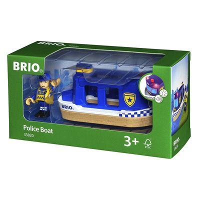 Brio Lights & Sounds Police Boat