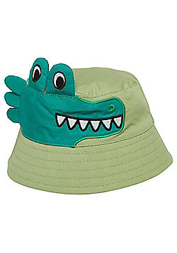 F&F Crocodile Bucket Hat - Green