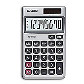 Casio SL-300SV Pocket Basic calculator Silver 8 Digits Solar Plus