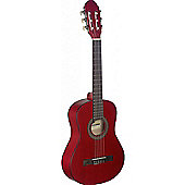 Stagg C410 1/2 Size Classical Guitar - Red