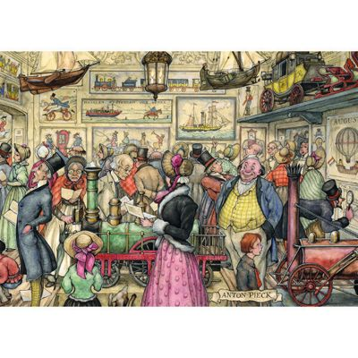 Anton Pieck - Exposition - 1000pc Puzzle