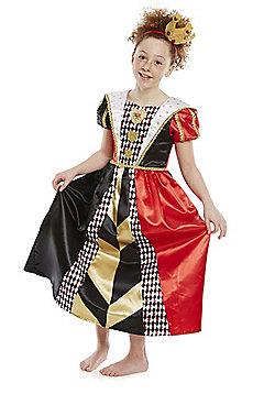 Disney Alice in Wonderland Queen of Hearts Dress-Up Costume - Black & Red
