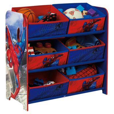 Spider-Man 6 Bin Storage
