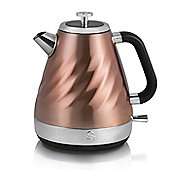 Swan SK37010TWN Electric 1.6L Twist Jug Kettle - Copper