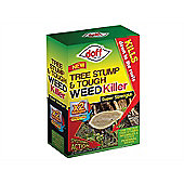 DOFF Tree Stump & Tough Weed Killer 2 Sachet