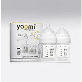 Yoomi Feeding System 2 X 140ml Easi-latch Bottles