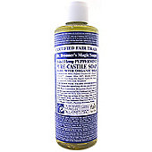 Dr Bronner's Organic Peppermint Castile Liquid Soap 236ml