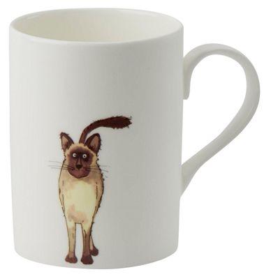 Roy Kirkham Lucy Mug Siamese Cat