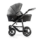 Venicci Carbo 3 in 1 Travel System - Denim Grey/Graphite