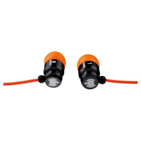 Exspect Ministry of Sound 001 Earphones Black/Orange