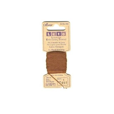 Clover Brown Luxurious Embroidery Threads