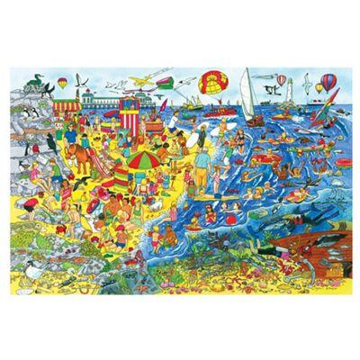 Bigjigs Toys Seaside Floor Puzzle (48 Piece)