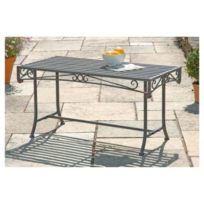 Versaille Low Level Table - Antique Bronze