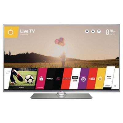 LG 55LB650V 55 Inch 3D Smart WebOS WiFi Built In Full HD 1080p LED TV with Freeview HD - Silver