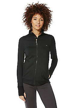 F&F Active Premium Zip-Through Jacket - Black