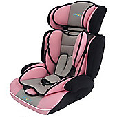 Bebe Style Group 1 2 3 Convertible Childs Car Seat & Booster - Pink