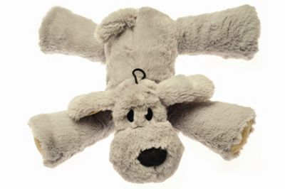 House of Paws Big Paws Dog Toy in Grey