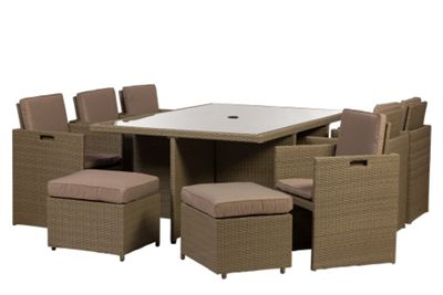 Royalcraft Jumeirah 10 Seater Cube Set