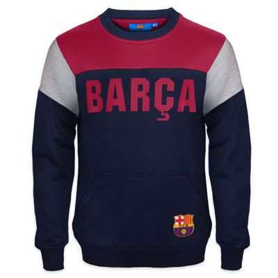 FC Barcelona Boys Sweatshirt Navy 8-9 Years