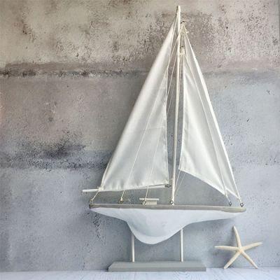 Grey Sail Boat - Large