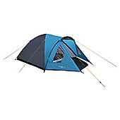 Yellowstone 4 Man Ascent Dome Tent Blue