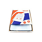 Esselte Clear Embossed Pocket Clear Pack of 100 23752