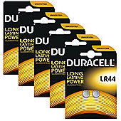 10 x Duracell LR44 1.5V Alkaline Button cell Batteries LR44 A76 AG13 357 SR44