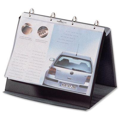 Durable Durastar Presentation Portfolio Graphite A4 Ref 8567