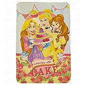 Disney Princess 'Cake' Panel Fleece Blanket