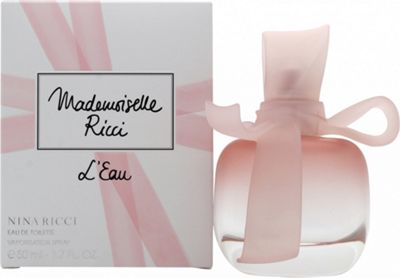 Nina Ricci Mademoiselle Ricci L'Eau Eau de Toilette (EDT) 50ml Spray For Women