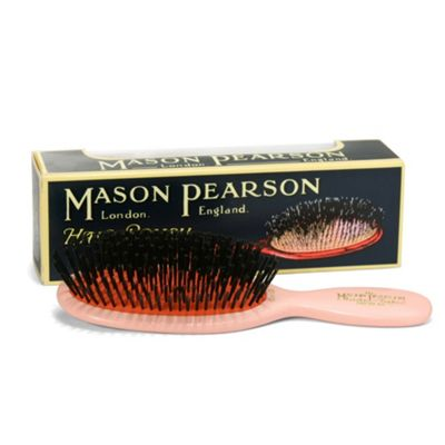 Mason Pearson CB4 Child's Pure Bristle Hair Brush - Pink