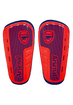 Arsenal FC Shinpads - Blue & Red