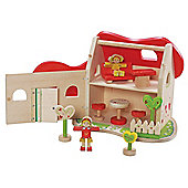 EverEarth Wooden Toy Fairy Tale Dolls House