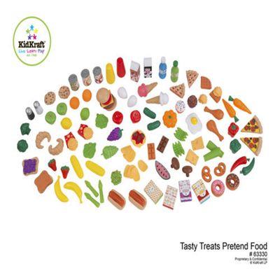 Kidkraft Tasty Treats Pretend Food 125 Pcs