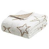 Star Chenille Baby Blanket