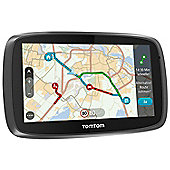 TomTom trucker 6000 6 Sat Nav with Speed Camera Detector, Lifetime Map & 1 year traffic Traffic Updates