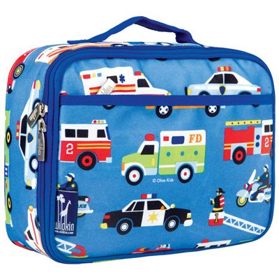 Kids' Lunch Box- Action Vehicles