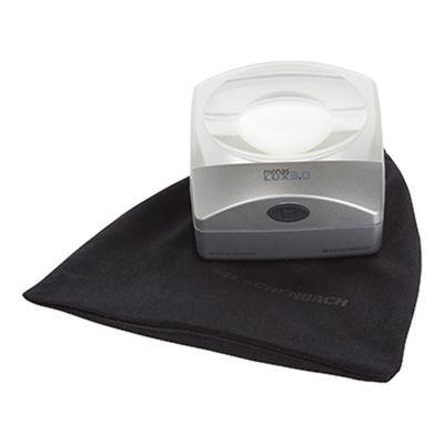 MenasLUX Illuminated Dome Magnifier 3x