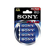 Sony Stamina Plus Alkaline 1.5V non-rechargeable battery AA 4 pcs 1.5 V