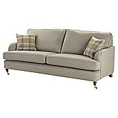 Carrington 3 Seat Large Sofa, Natural