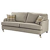 Carrington Large 3 Seater Sofa, Natural