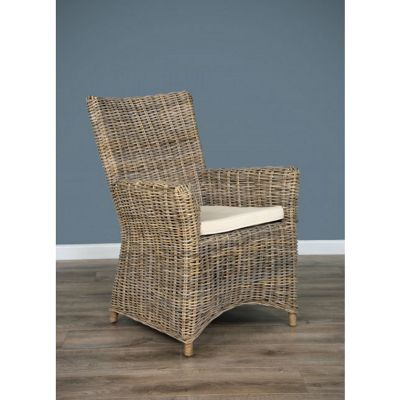 Natural Wicker Vincent Dining Chair