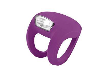 Knog Frog Strobe Front LED Cycle Light 8.5 Lumens Grape