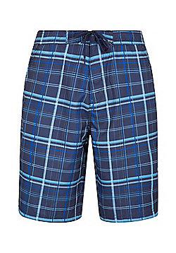 Mountain Warehouse Ocean Printed Mens Boardshorts - Blue