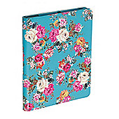 Accessorize Case/Stand for iPad 2/iPad 3 - Blue Floral