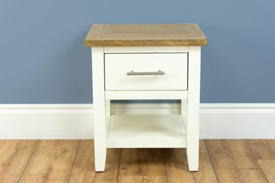Nebraska Painted Oak - Cream Lamp Table
