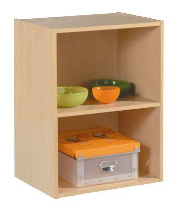Altruna Easy Life Bookcase Cube 02 - Beech