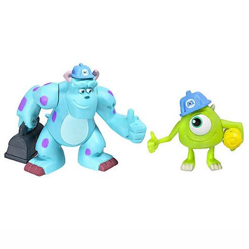 Monsters Inc 2 Pack - Mike and Sulley
