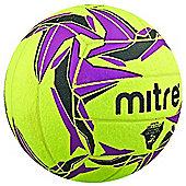 Mitre Cyclone Indoor Football - Hi Vis Size 4 Season 2015