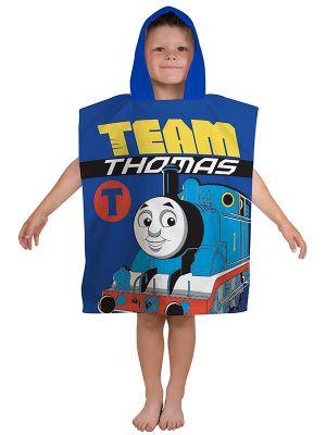 Thomas & Friends Team Hooded Poncho Towel
